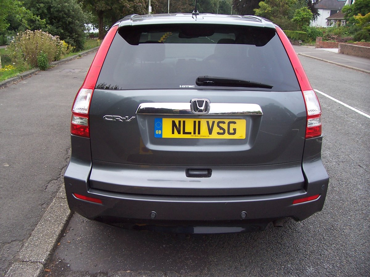 2011 HONDA CR-V 2.2 DTEC EX AUTOMATIC 5 DOOR For Sale (picture 4 of 6)