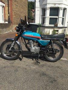 Honda cb100n-a