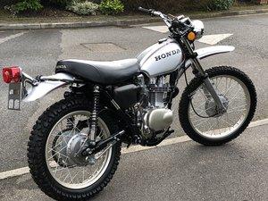 1972 Honda XL250K0 Motosport