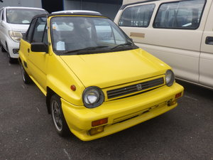 1985 HONDA CITY RARE MODERN CLASSIC 1.2 CABRIOLET CONVERTIBLE For Sale