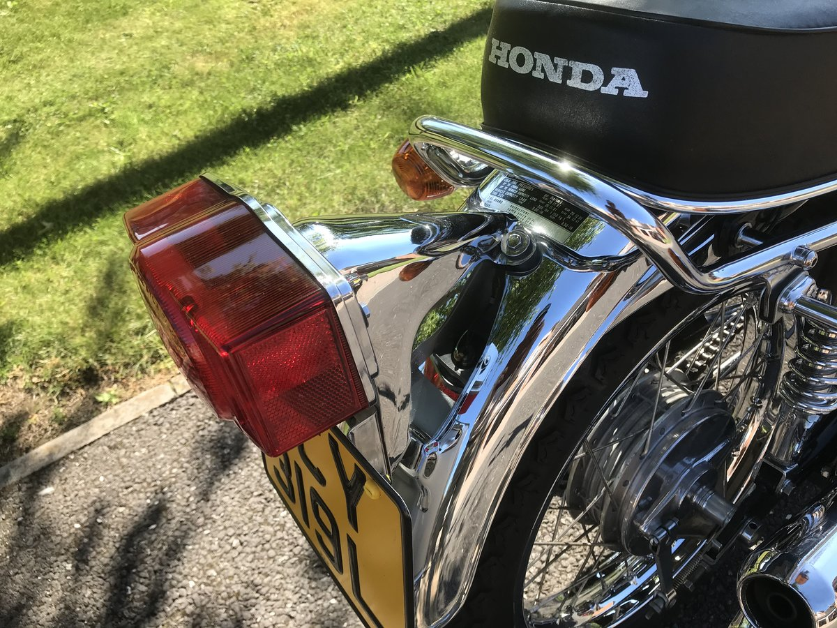 1973 Honda cb350 four must be the best there is. SOLD (picture 5 of 6)