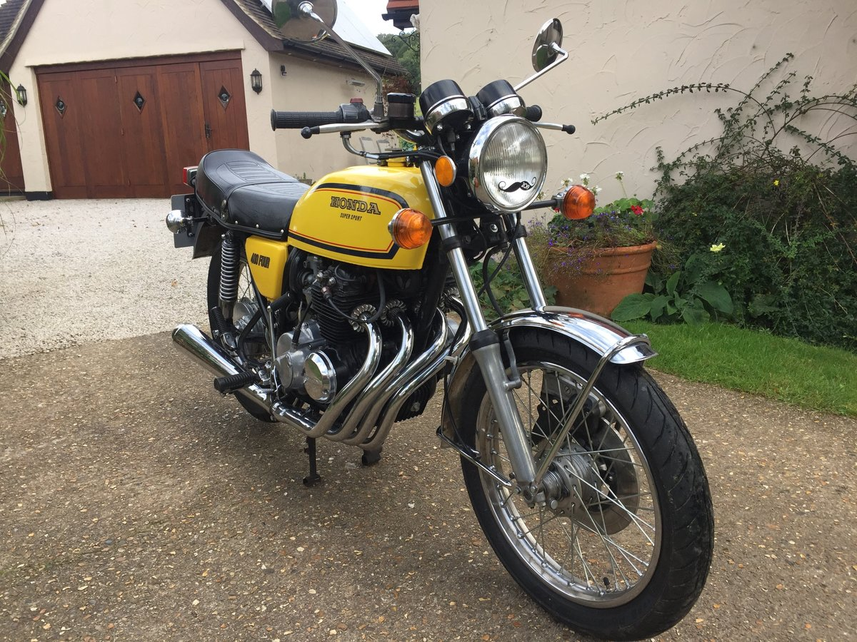 1978 Honda 400/4  yellow  For Sale (picture 1 of 5)