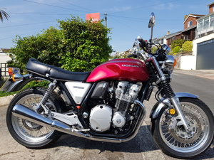 Honda CB1100, just 166 miles from new!