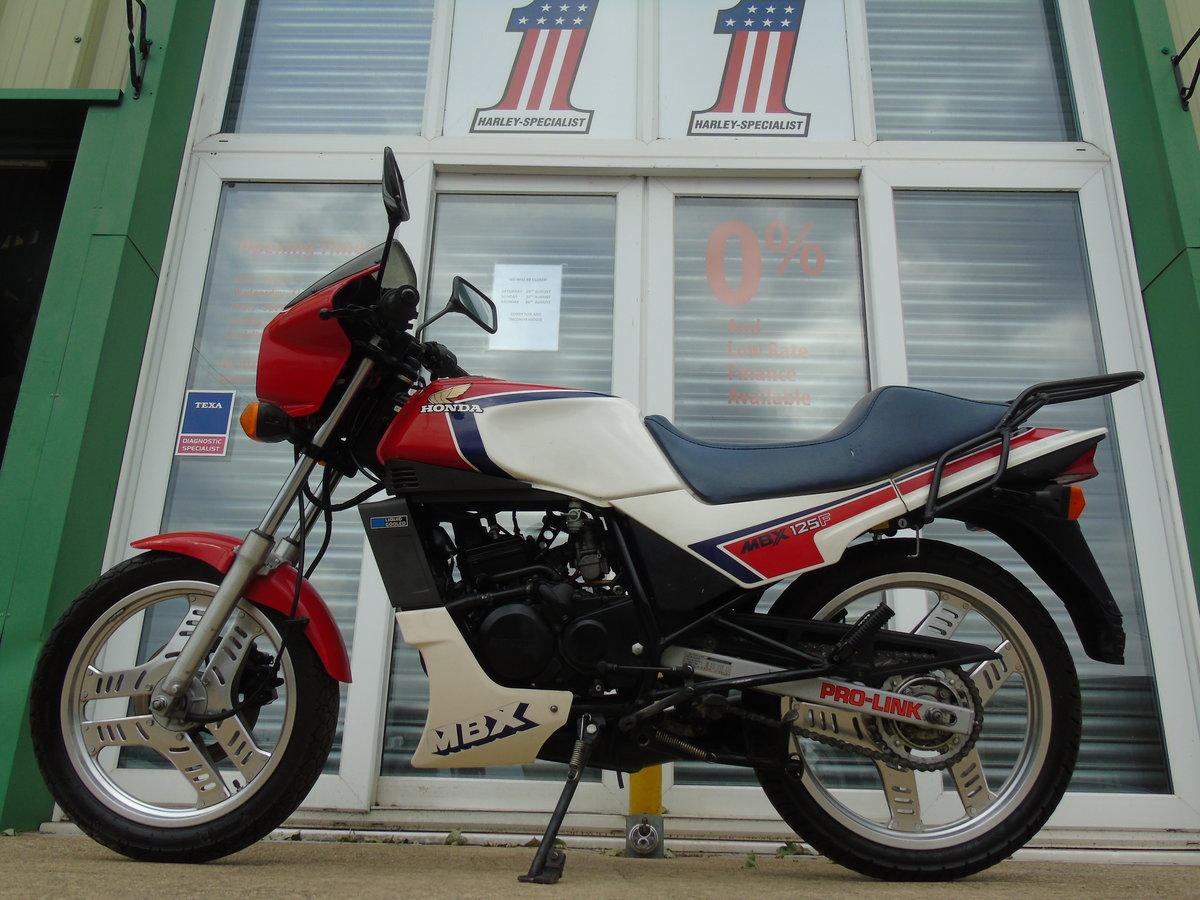 1984 Honda MBX125 1985 Very Original Classic 2 Stroke For Sale (picture 2 of 6)