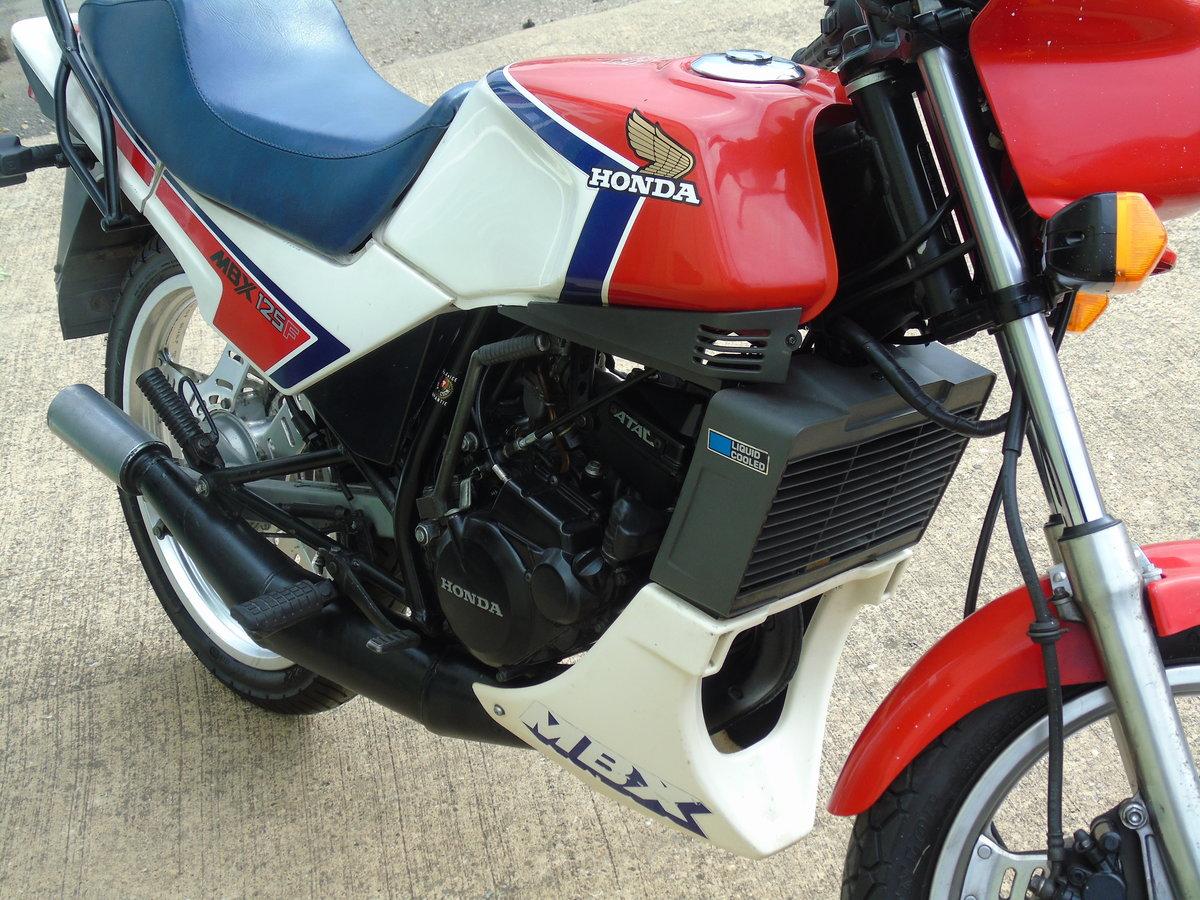 1984 Honda MBX125 1985 Very Original Classic 2 Stroke For Sale (picture 4 of 6)