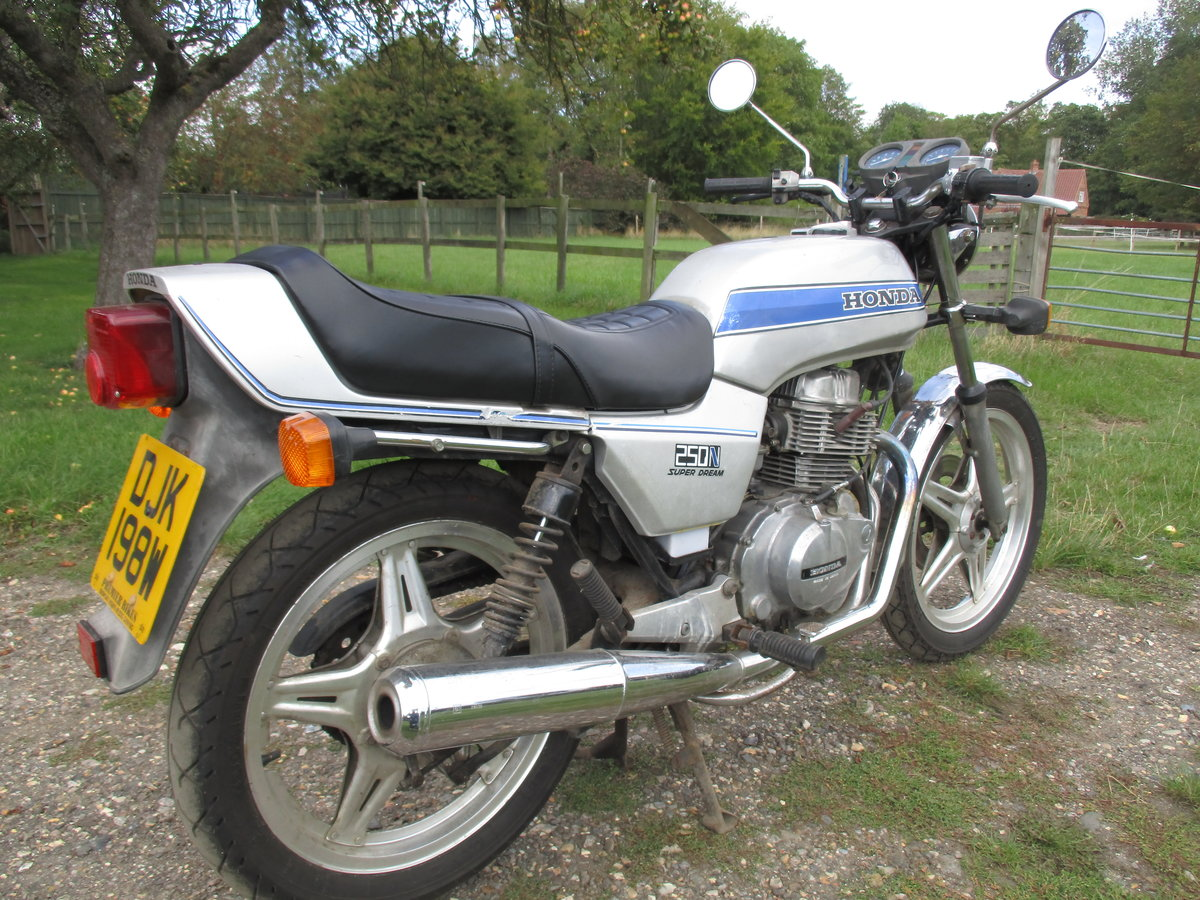 1980 1981 Honda CB250N Superdream For Sale (picture 2 of 6)