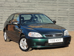 Honda Civic EJ9 1.4i Auto, 1 Owner, FSH (19 Service Stamps)