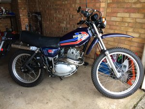Picture of 1978 Honda XL250S