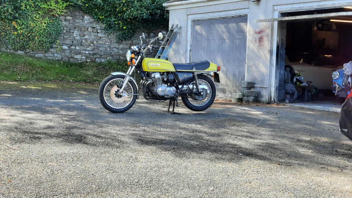 1976 CB750 Unrestored in excellent condition SOLD (picture 1 of 6)