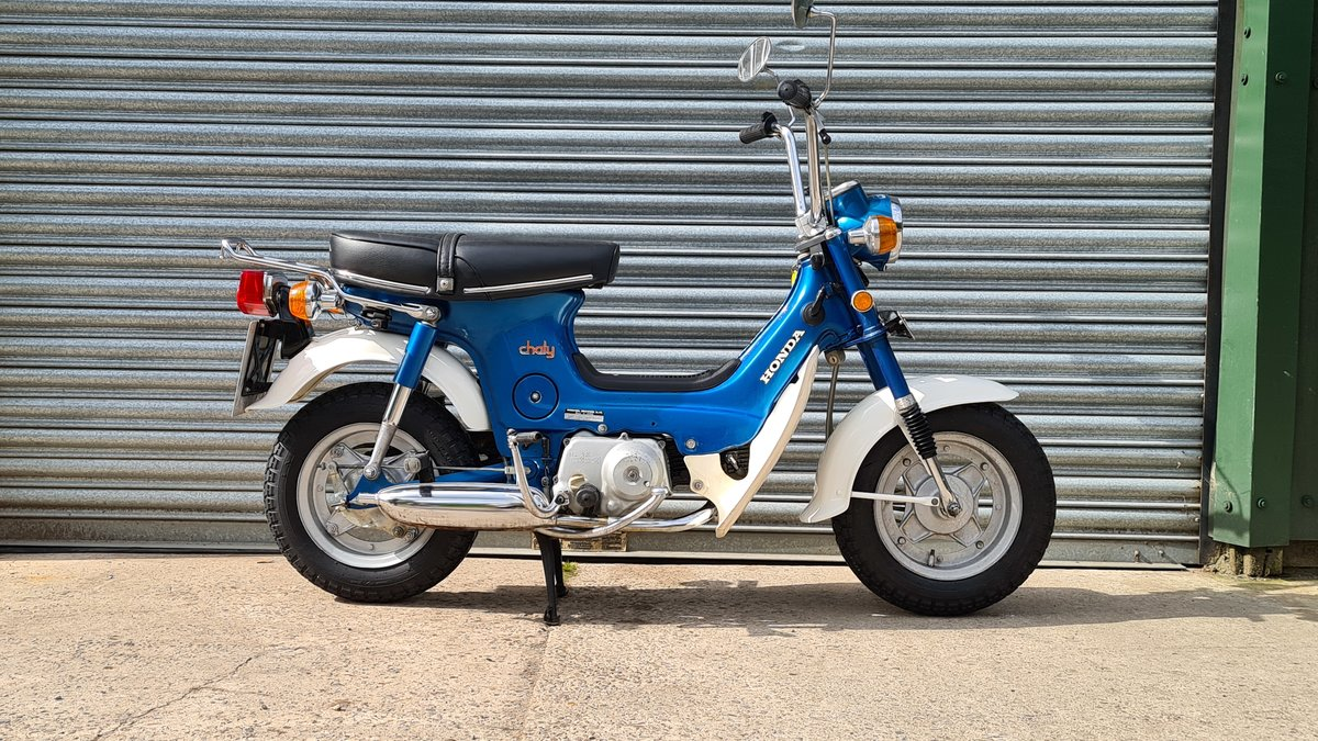 1974 Honda Chaly CF70 460 Miles!!! For Sale (picture 1 of 14)