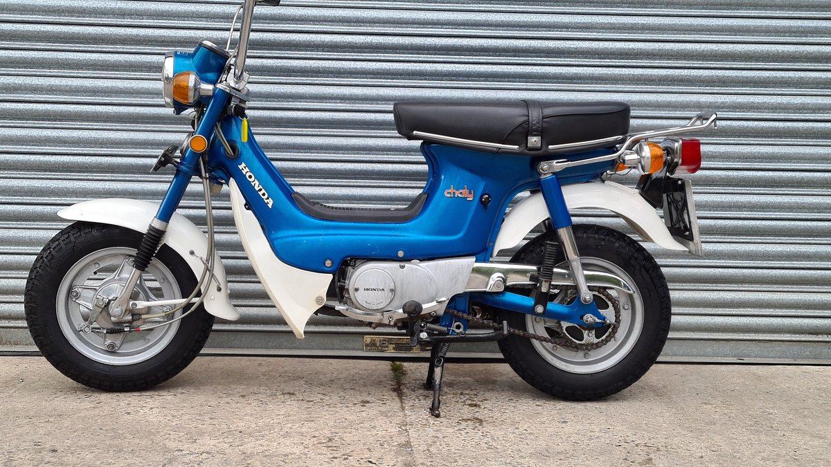 1974 Honda Chaly CF70 460 Miles!!! For Sale (picture 2 of 14)