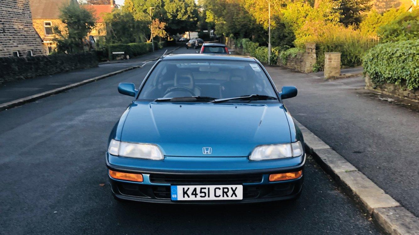 Picture of 1992 HONDA CRX V-TEC, CELESTIAL BLUE For Sale