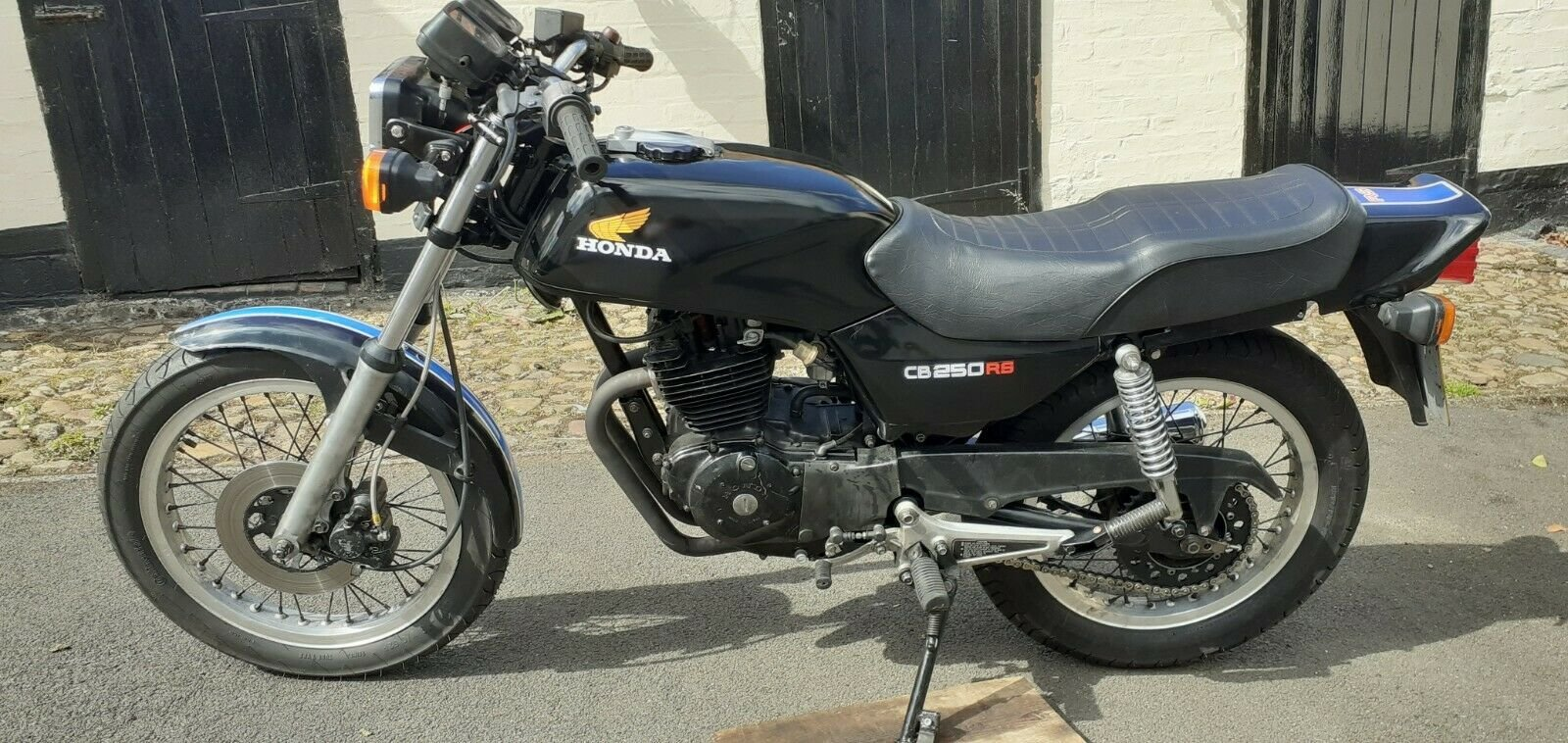 1983 Rare CB250 RSA single cylinder  Runs beautifully. SOLD (picture 1 of 6)