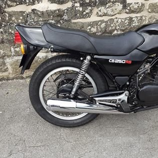 1983 Rare CB250 RSA single cylinder  Runs beautifully. SOLD (picture 3 of 6)