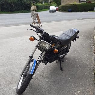 1983 Rare CB250 RSA single cylinder  Runs beautifully. SOLD (picture 5 of 6)