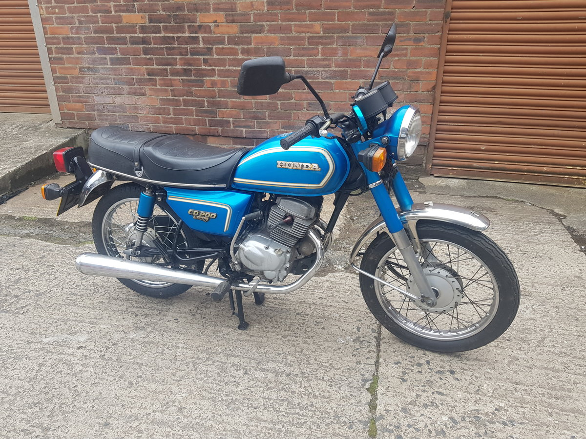 1983 Honda CD200 Benly For Sale (picture 1 of 6)