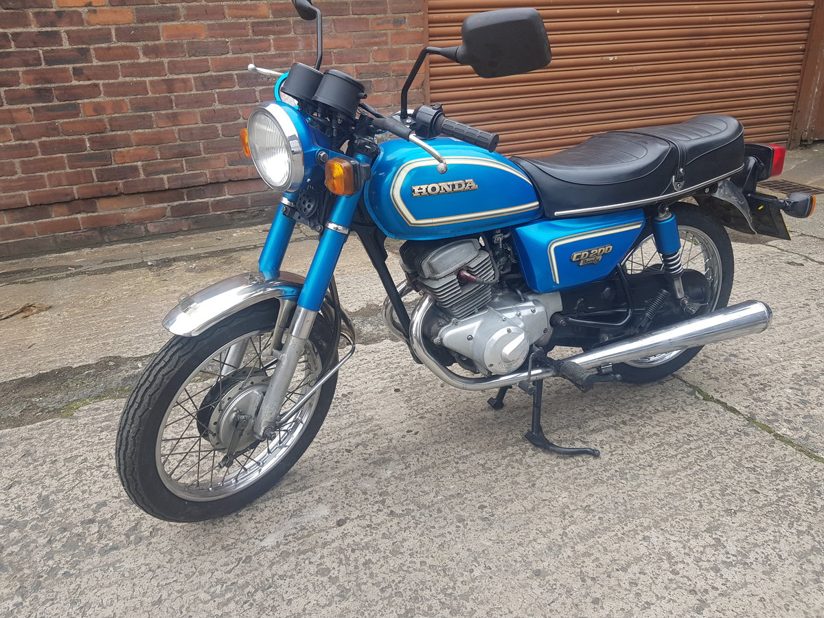 1983 Honda CD200 Benly For Sale (picture 2 of 6)
