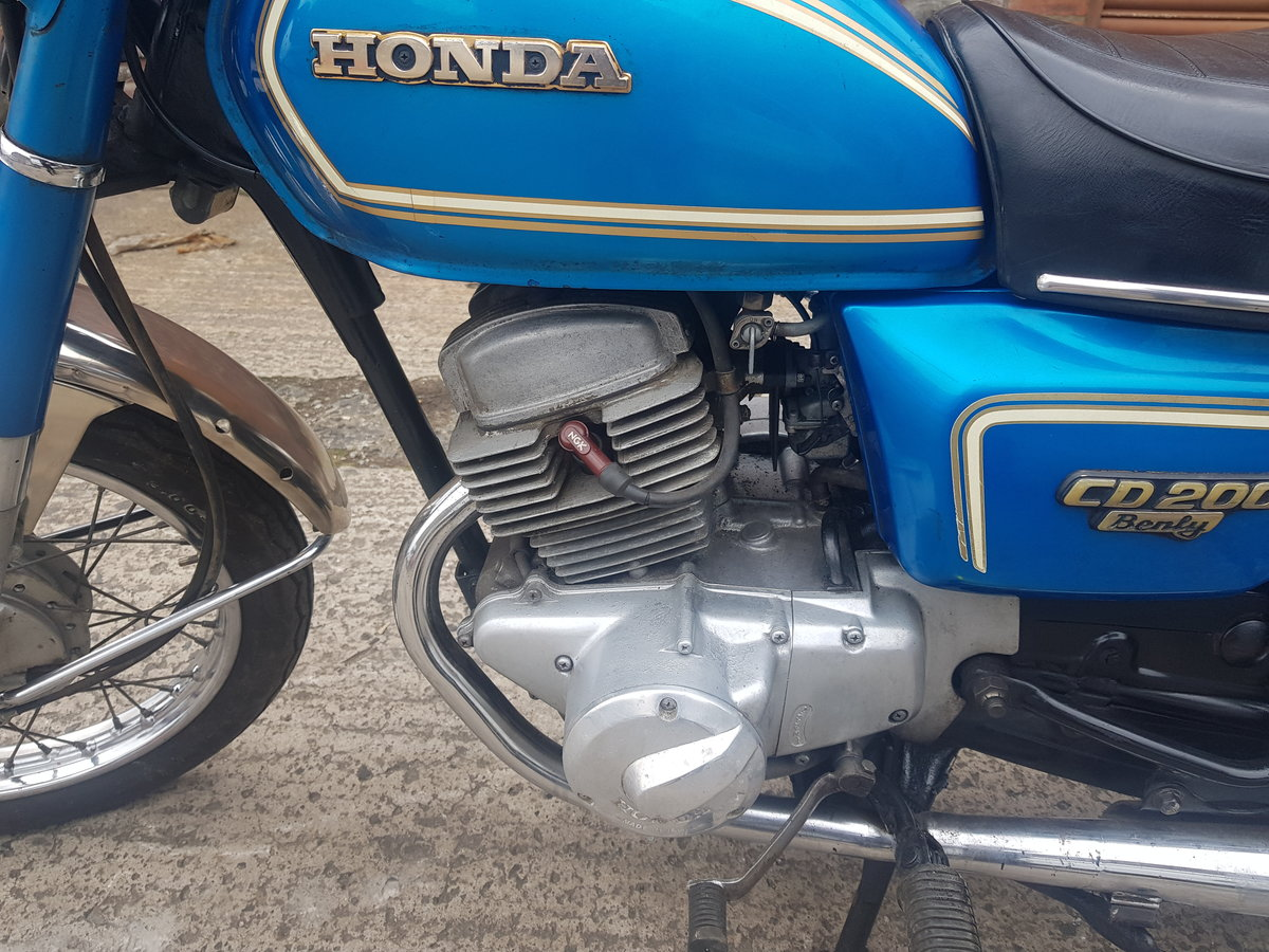 1983 Honda CD200 Benly For Sale (picture 4 of 6)