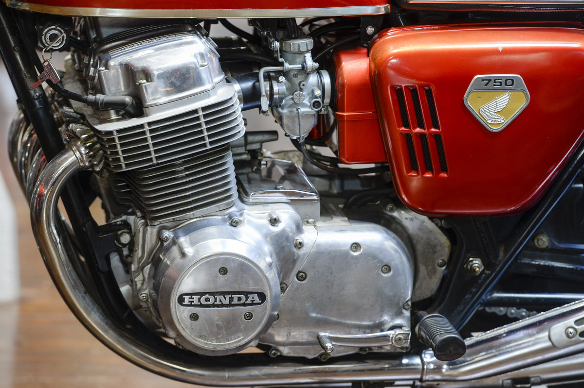 1970 Honda CB750 Original Unrestored Sandcast Model For Sale (picture 5 of 6)