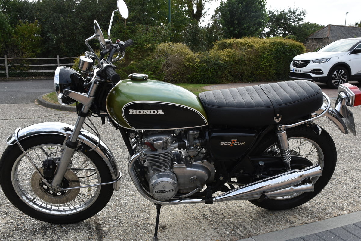1972 Honda CB500 Four For Sale (picture 1 of 5)