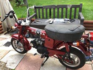Honda Dax with Lifan 110cc engine.
