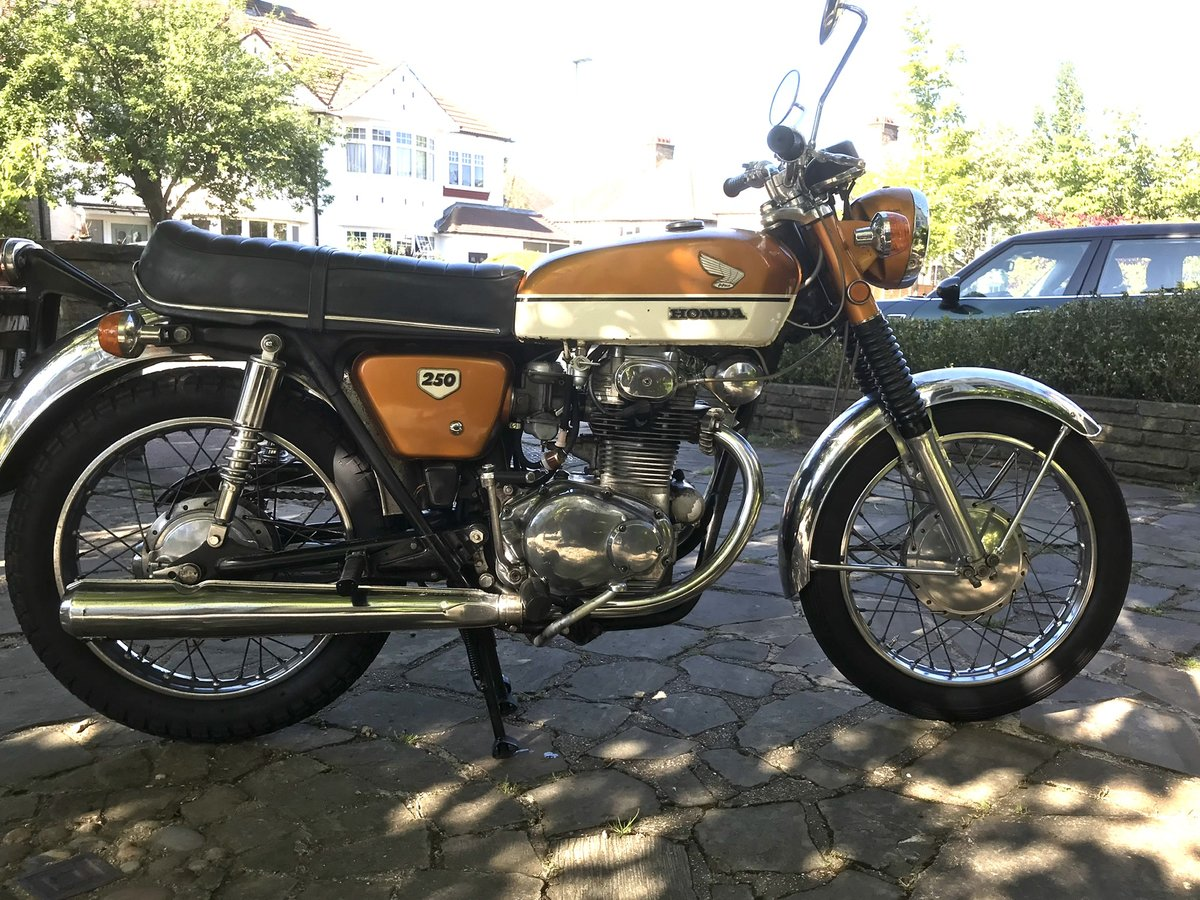 1970 Vintage Honda cb 250 For Sale (picture 3 of 3)