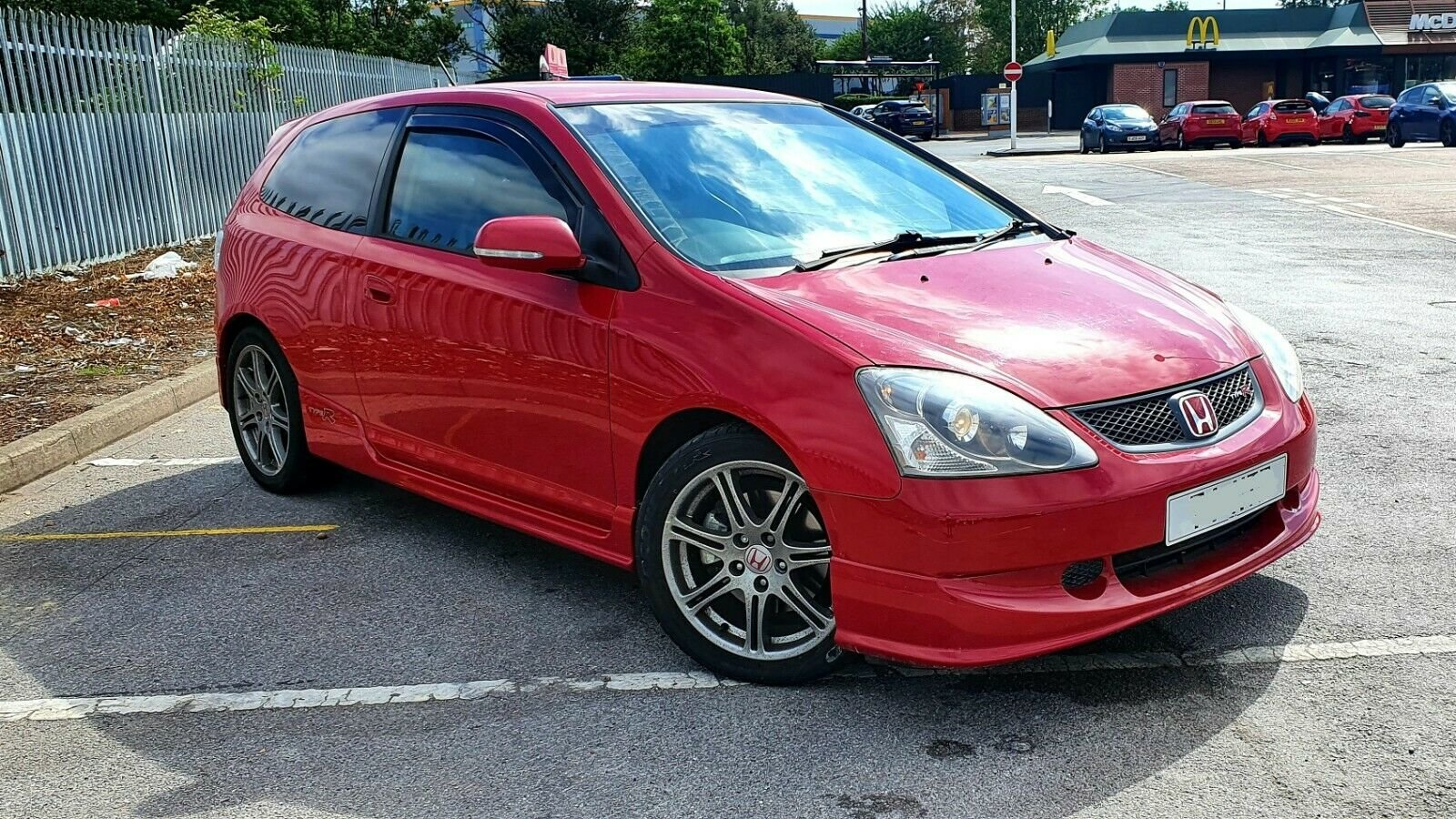 2004 Honda Civic Type R EP3 K20 Rare Red, Leather Seats ...