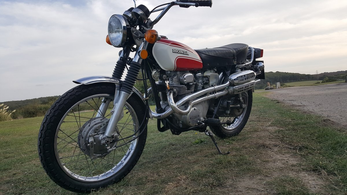 1973 Honda 350CL Twin lovely old Honda now very collectable For Sale (picture 1 of 6)