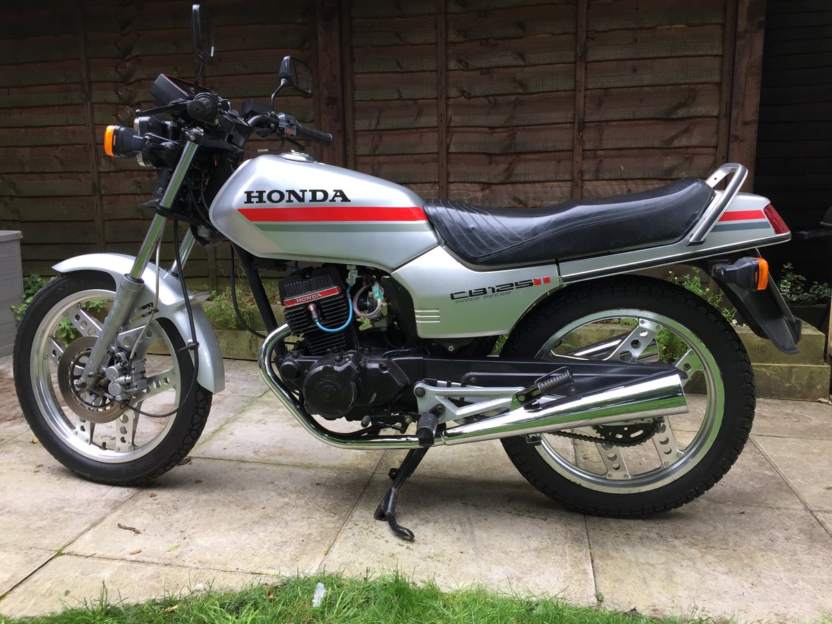 1982 Honda CB125TD Superdream For Sale (picture 1 of 6)