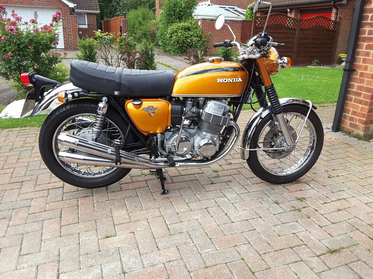 1972 Vintage Honda CB750 K1 For Sale (picture 1 of 6)