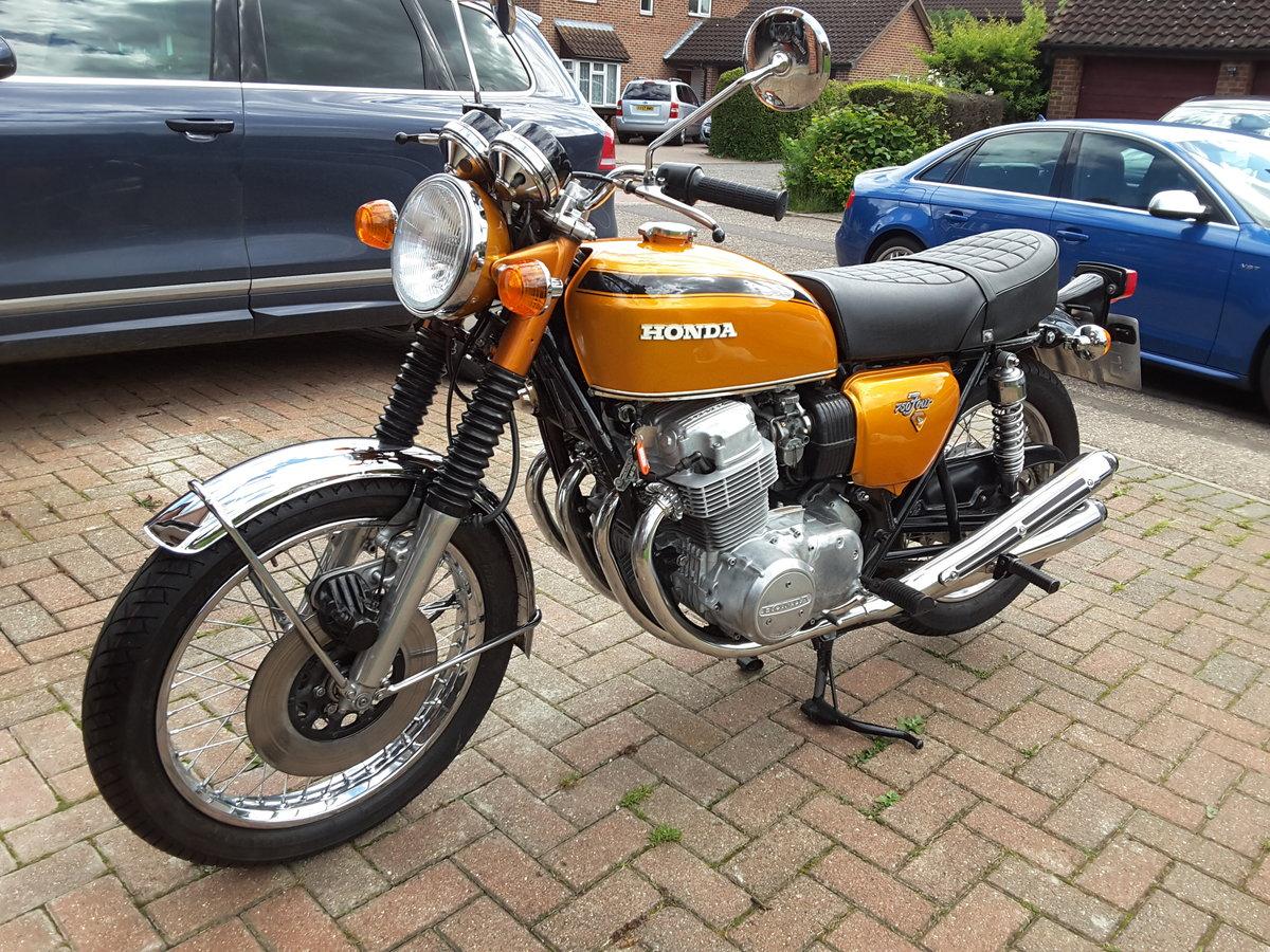 1972 Vintage Honda CB750 K1 For Sale (picture 4 of 6)