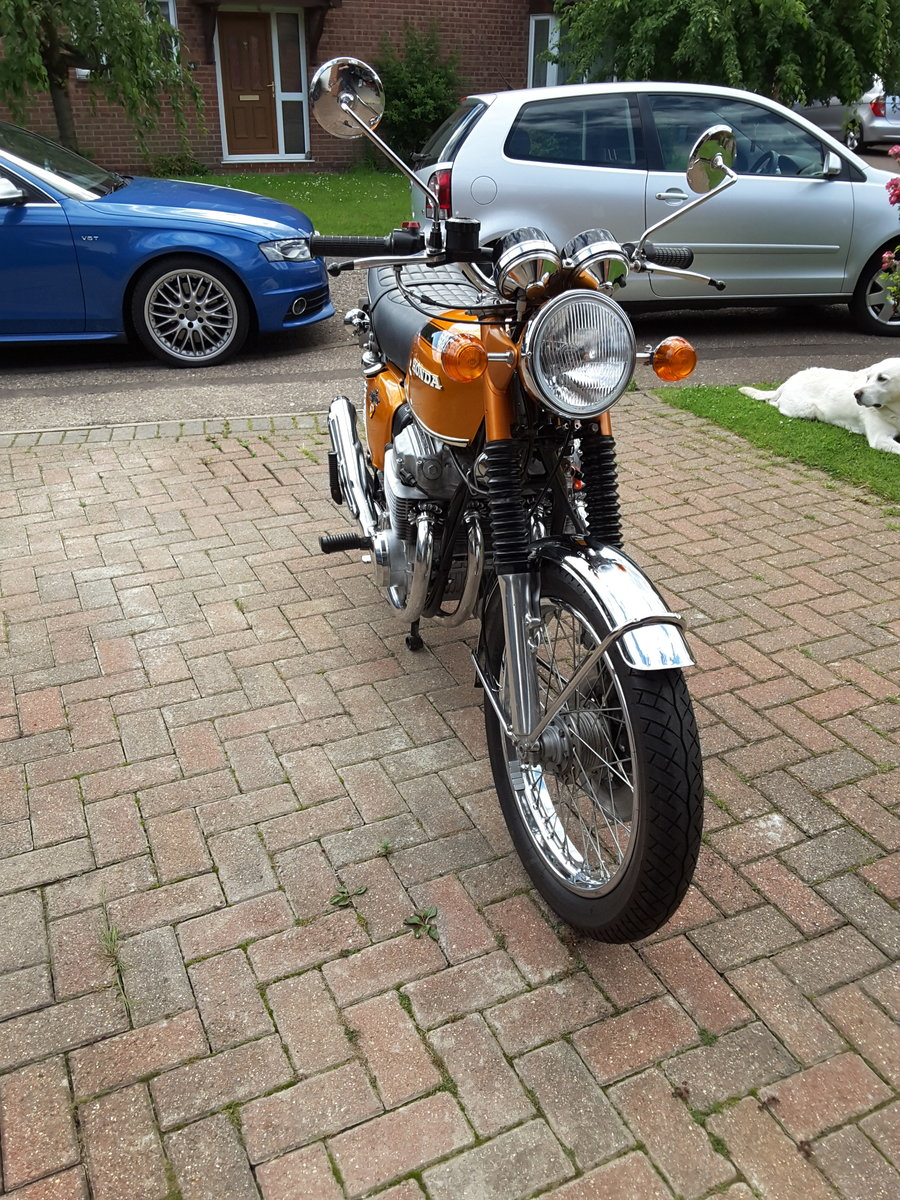 1972 Vintage Honda CB750 K1 For Sale (picture 6 of 6)