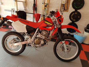 An as new (300 miles from new) 2003 honda XR400R