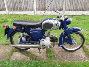 Picture of 1964 Honda C200 classic motorcycle