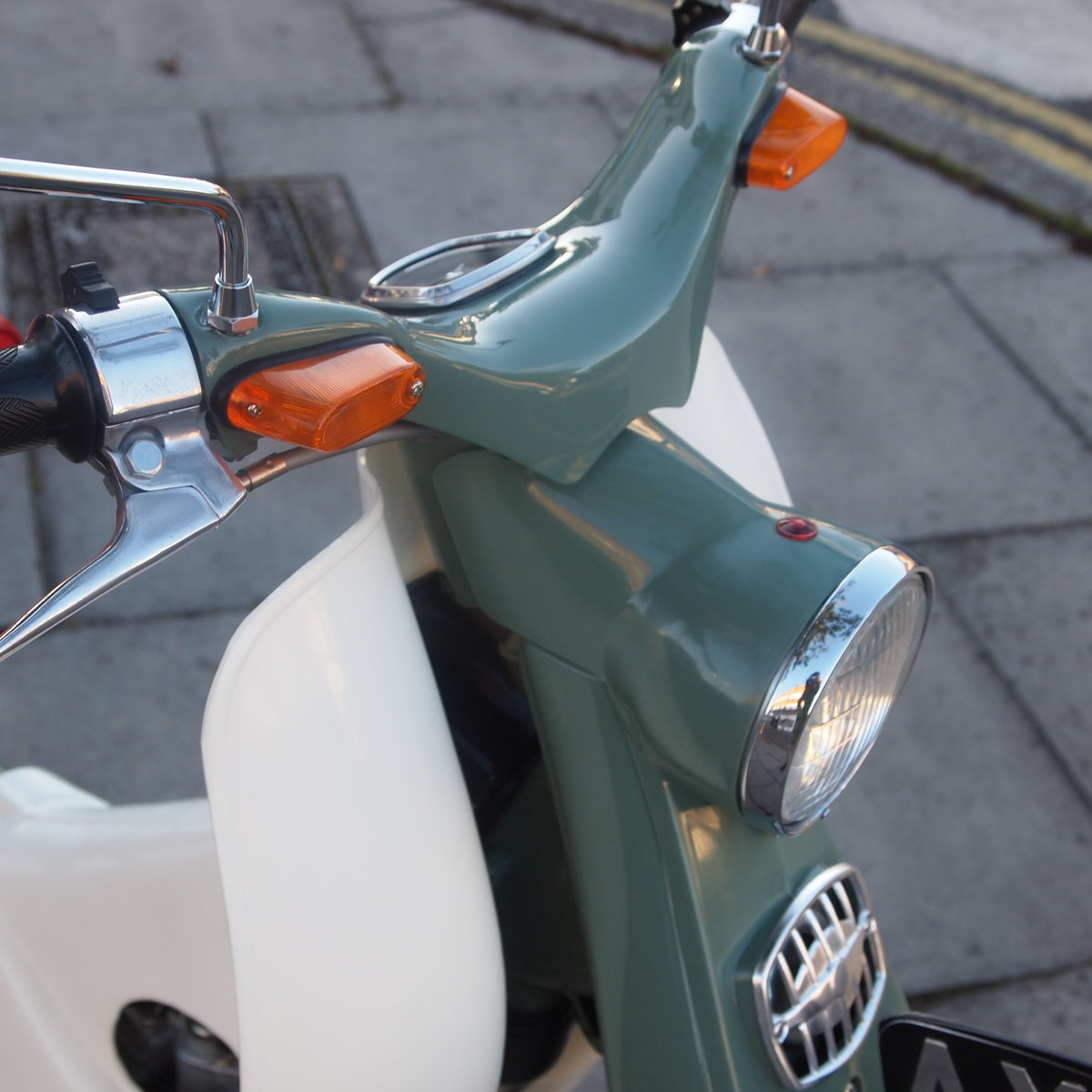 1964 Honda C100 49cc Enjoy L@@King at Pictures. For Sale (picture 6 of 6)