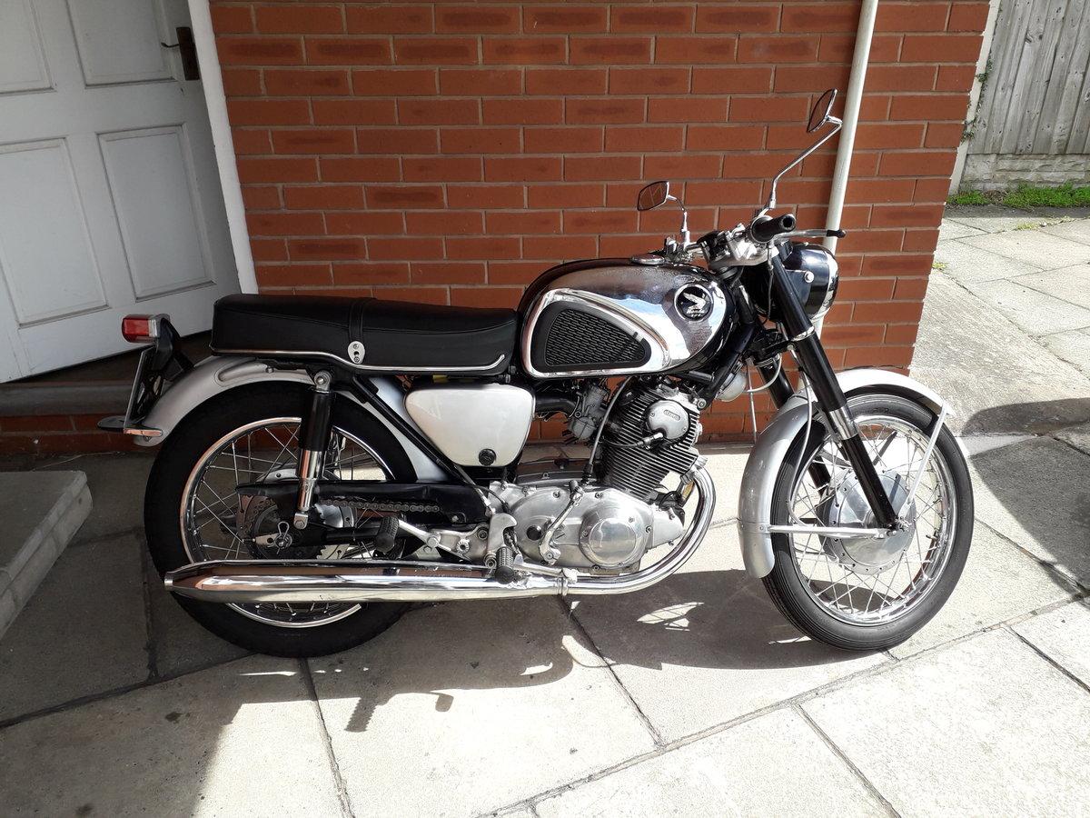 1962 Honda Cb77 super hawk For Sale (picture 1 of 6)