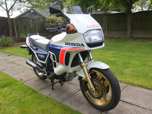 Honda cx650 turbo 700 miles from new