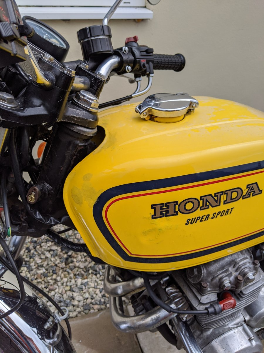 1977 Honda 400 F2 Supersport  For Sale (picture 5 of 6)