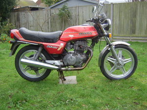 1982 Honda CB250 N Super Dream for auction 29th/30th October