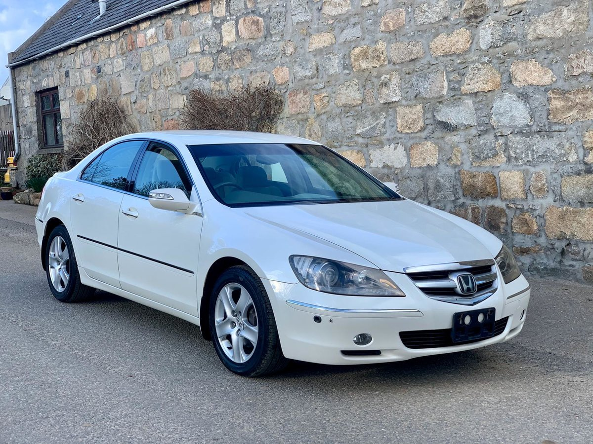 2004 Honda Legend KB1 Pearl White For Sale | Car And Classic
