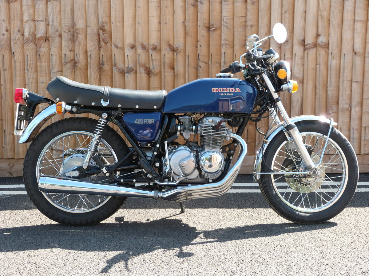 1976 Honda 400 Four Supersports SOLD by Auction (picture 1 of 6)