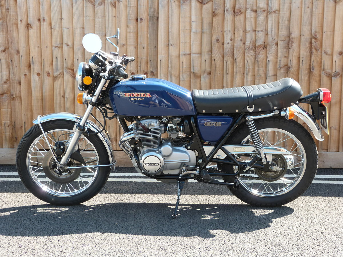 1976 Honda 400 Four Supersports SOLD by Auction (picture 5 of 6)