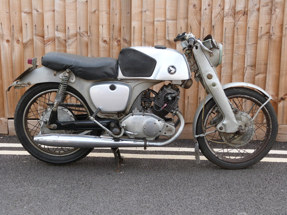 1961 Honda CB92 125cc SOLD (picture 1 of 6)