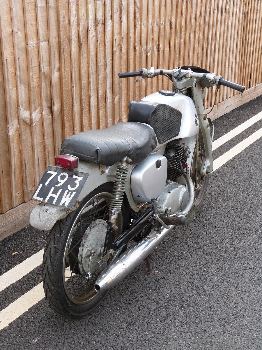 1961 Honda CB92 125cc SOLD (picture 3 of 6)