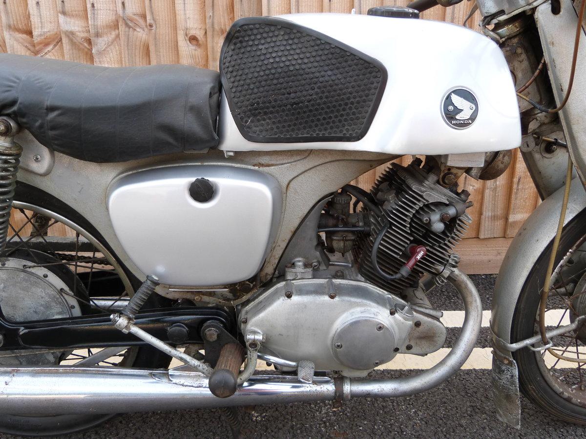 1961 Honda CB92 125cc SOLD (picture 5 of 6)