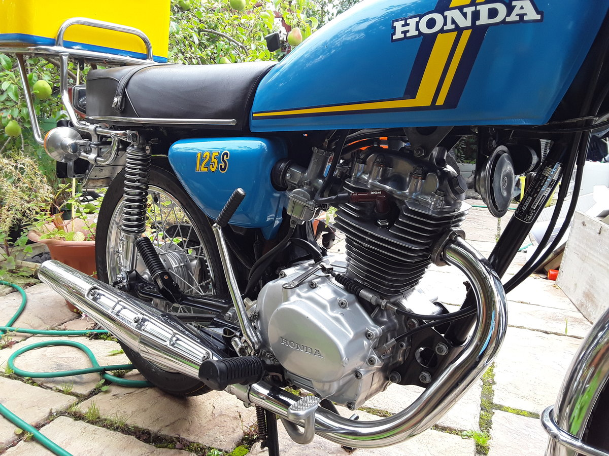 1976 Honda CB125S (J) For Sale (picture 3 of 5)