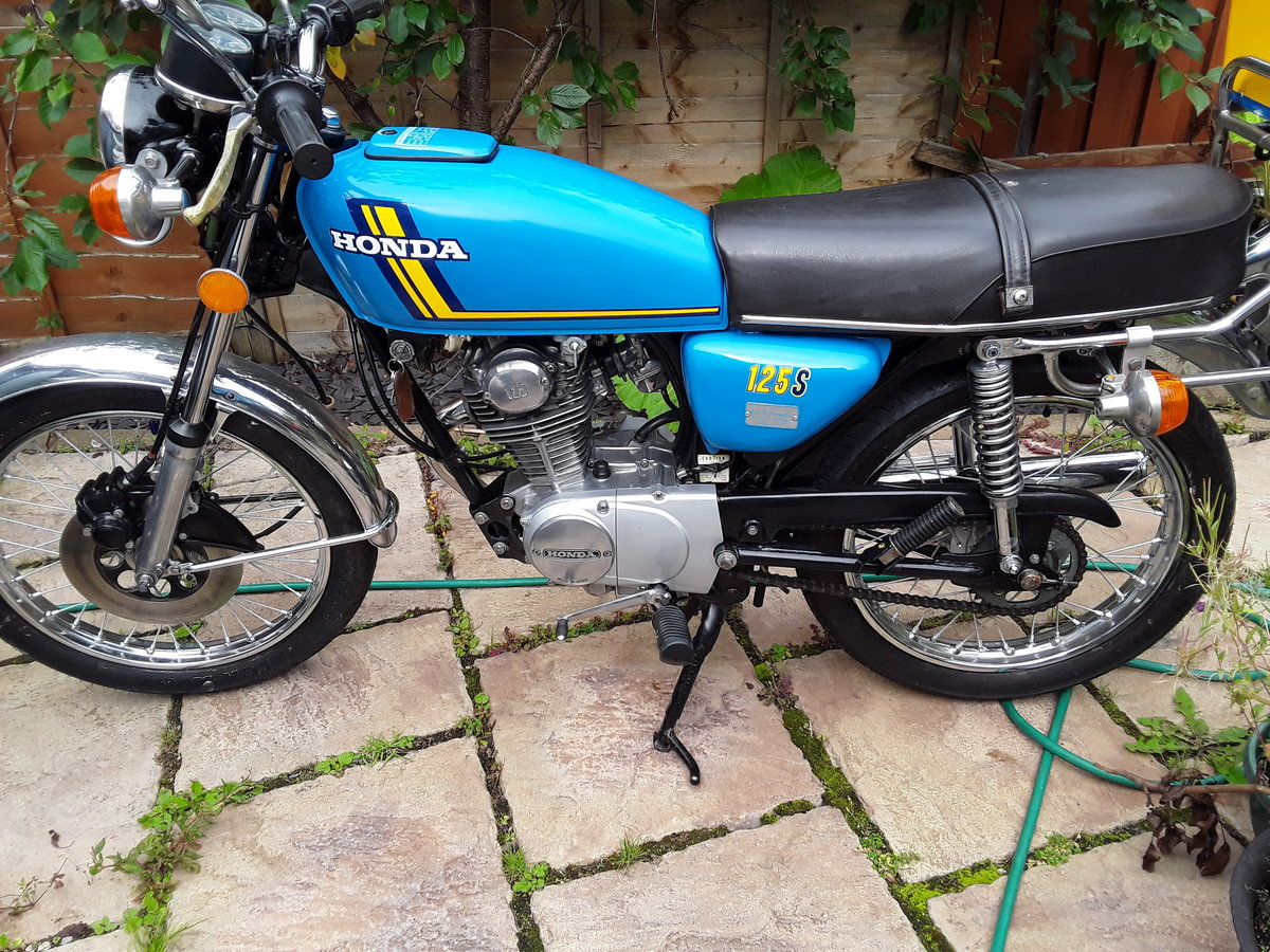 1976 Honda CB125S (J) For Sale (picture 4 of 5)