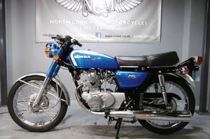 Honda CB125 1973 . Full restoration all correct