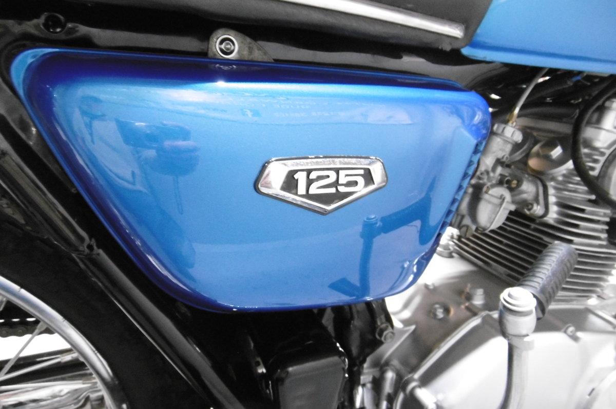 Honda CB125 1973 . Full restoration all correct For Sale (picture 5 of 6)