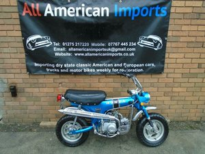 HONDA CT70 TRIAL MONKEY BIKE (1970) CANDY SAPPHIRE BLUE!